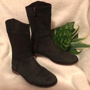 UGG Fern Tall Black Riding Boots